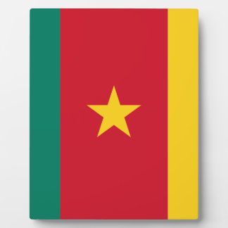 Low Cost! Cameroon Flag Display Plaque