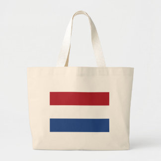 Low Cost! Caribbean Netherlands Flag Large Tote Bag