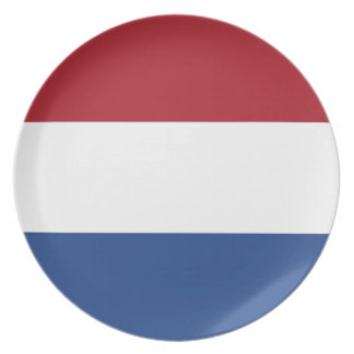 Low Cost! Caribbean Netherlands Flag Plate