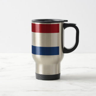 Low Cost! Caribbean Netherlands Flag Travel Mug
