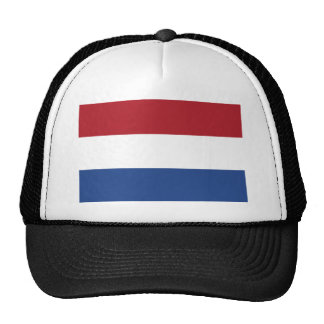 Low Cost! Caribbean Netherlands Flag Trucker Hat