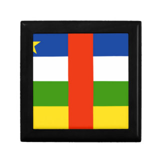 Low Cost! Central African Republic Flag Jewelry Box