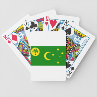 Low Cost! Cocos Island Flag Bicycle Playing Cards