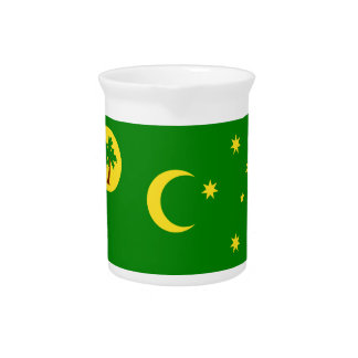 Low Cost! Cocos Island Flag Pitcher