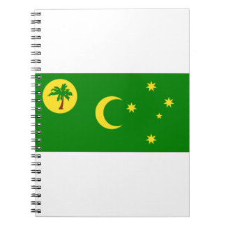 Low Cost! Cocos Island Flag Spiral Notebook