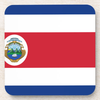 Low Cost! Costa Rica Flag Drink Coaster