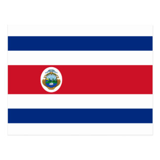 Low Cost! Costa Rica Flag Postcard