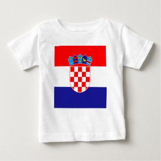 Low Cost! Croatian Flag Baby T-Shirt