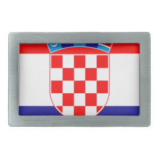 Low Cost! Croatian Flag Belt Buckles