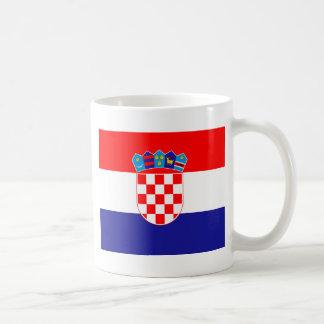 Low Cost! Croatian Flag Coffee Mug
