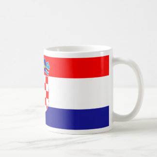 Low Cost! Croatian Flag Coffee Mug