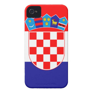 Low Cost! Croatian Flag iPhone 4 Case