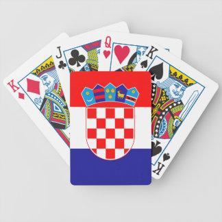 Low Cost! Croatian Flag Poker Deck