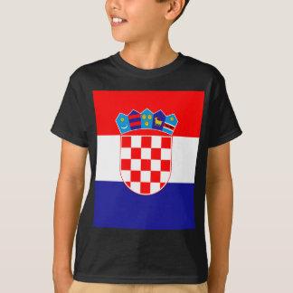 Low Cost! Croatian Flag T-Shirt