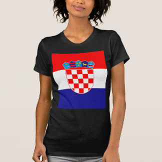 Low Cost! Croatian Flag T-Shirt