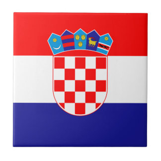 Low Cost! Croatian Flag Tile