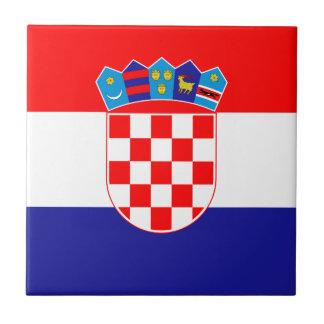 Low Cost! Croatian Flag Tiles