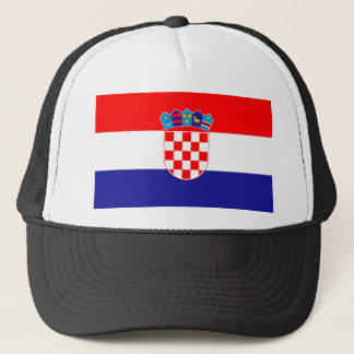 Low Cost! Croatian Flag Trucker Hat