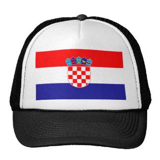 Low Cost! Croatian Flag Trucker Hat