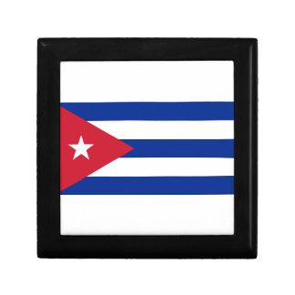 Low Cost! Cuba Flag Gift Box