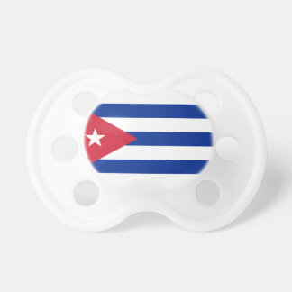 Low Cost! Cuba Flag Pacifier