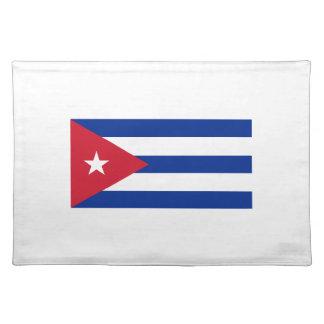 Low Cost! Cuba Flag Placemat