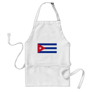 Low Cost! Cuba Flag Standard Apron