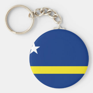Low Cost! Curacao Flag Keychain