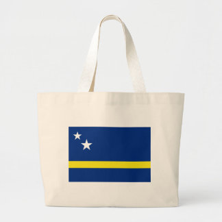Low Cost! Curacao Flag Large Tote Bag