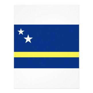 Low Cost! Curacao Flag Letterhead
