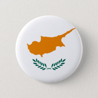 Low Cost! Cyprus Flag 2 Inch Round Button