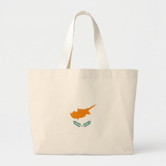 Low Cost! Cyprus Flag Large Tote Bag