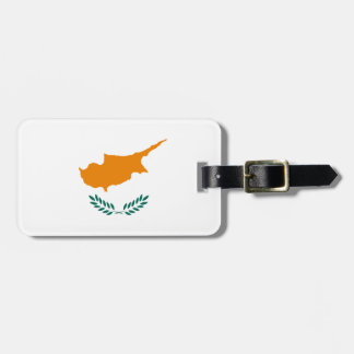 Low Cost! Cyprus Flag Luggage Tag