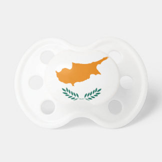 Low Cost! Cyprus Flag Pacifier