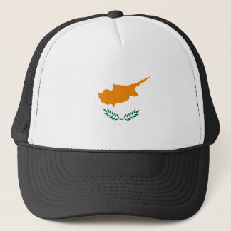 Low Cost! Cyprus Flag Trucker Hat