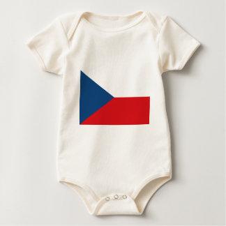 Low Cost! Czech Republic Flag Baby Bodysuit