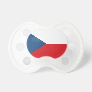 Low Cost! Czech Republic Flag Baby Pacifiers
