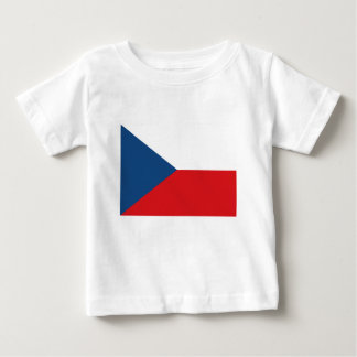 Low Cost! Czech Republic Flag Baby T-Shirt