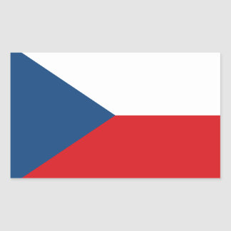 Low Cost! Czech Republic Flag Sticker
