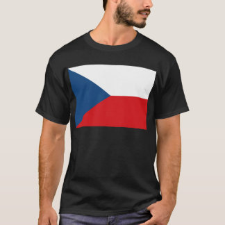 Low Cost! Czech Republic Flag T-Shirt