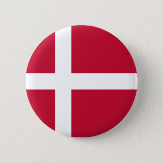 Low Cost! Denmark Flag 2 Inch Round Button