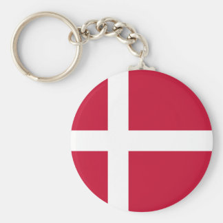 Low Cost! Denmark Flag Keychain
