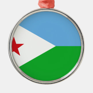 Low Cost! Djibouti Flag Metal Ornament