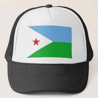 Low Cost! Djibouti Flag Trucker Hat