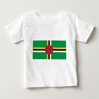 Low Cost! Dominica Flag Baby T-Shirt