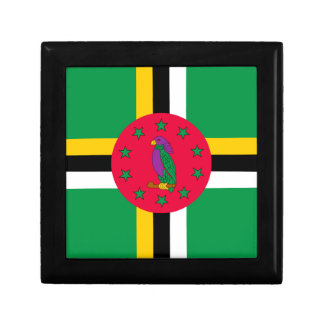 Low Cost! Dominica Flag Gift Box