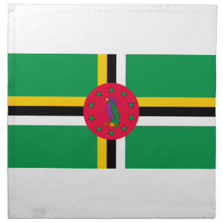 Low Cost! Dominica Flag Napkin