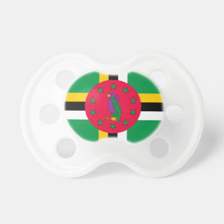 Low Cost! Dominica Flag Pacifier