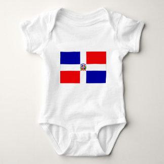 Low Cost! Dominican Republic Baby Bodysuit