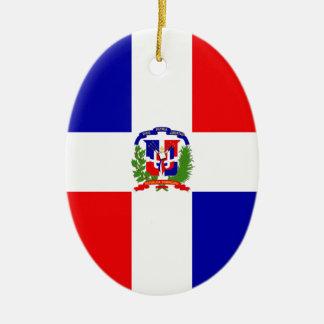 Low Cost! Dominican Republic Ceramic Ornament